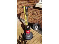"Victor Sprite 400 15"" High Speed Floor Cleaner / Polisher / Buffer / Sander"
