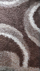 Brown Fluffy Carpet, Mixed brown shades. Cozy