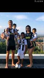 2019 Juventus Football Kit Ronaldo 4-13 years