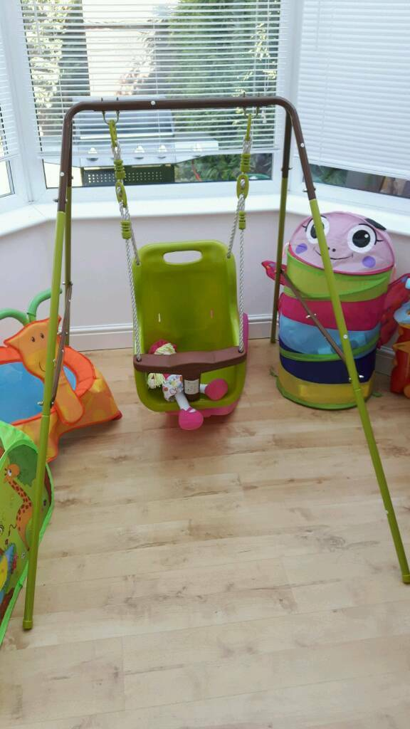 Baby Swing Set Indoor And Outdoor