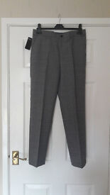 Boys Marks and Spencer Autograph Grey Trousers - BRAND NEW