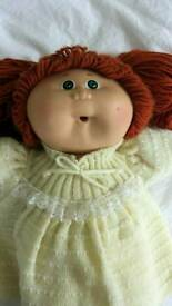 Vintage Cabbage Patch Kid doll 'Alicia Casey' - good condition