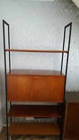 Teak Retro Shelf Unit great condition really lovely wood
