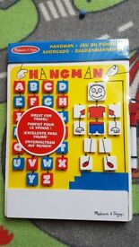 Melissa & Doug New Hangman travel game (unopened)