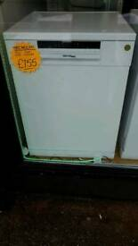TECHNOLEC FULL SIZE DISHWASHER IN WHITE