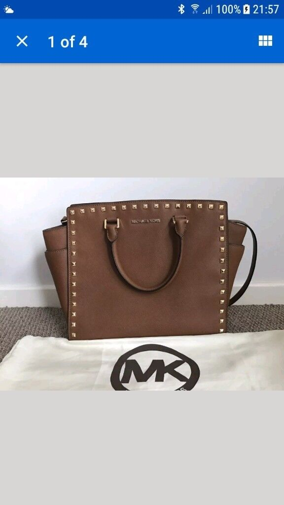 f76cd2beeebb Michael Kors large selma bag