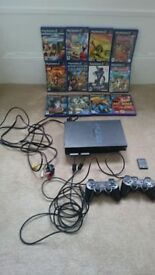 Ps2 console and games £47