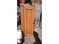 Kitchen unit cupboard door, wood, wooden