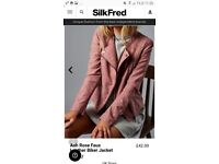 *REDUCED* Faux leather jacket