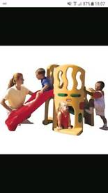 Little tikes slide and climbing frame 2-6years