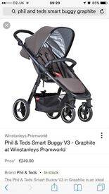 Brand new Phil and teds smart buggy