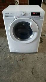 White A+ Class Hoover 8+5Kg WasherDryer. RPM 1400, 5+5 Auto, Sensor Dry, Eco Technology