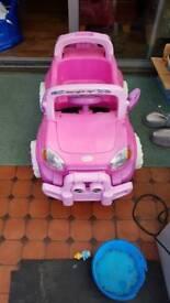 toddler electric car