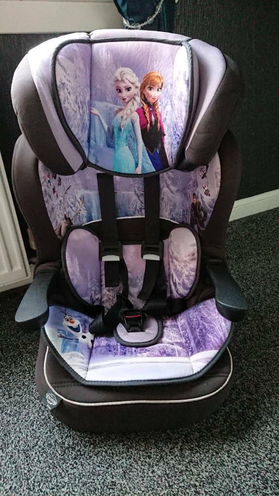 Frozen Car Seat Group 123