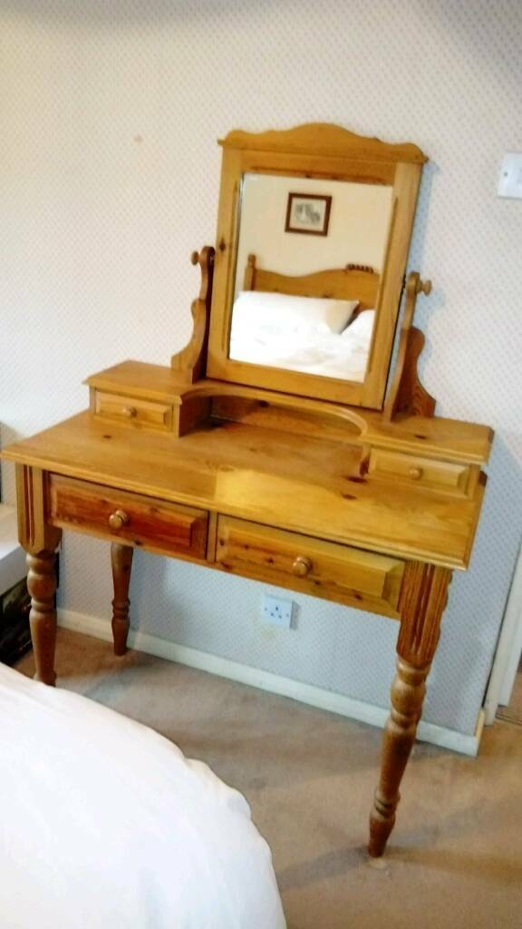 super popular 63e75 000b7 Antique Pine dressing table | in Billericay, Essex | Gumtree
