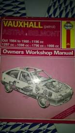 Vauxhall Haynes Manuals