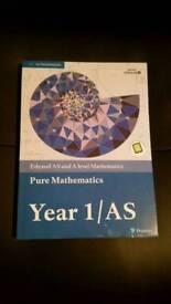 Pure mathematics year 1/AS