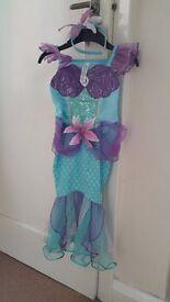 Disney Ariel dress up costume age 5-6
