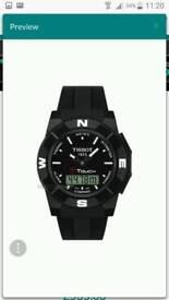 Tissot Men's T-Touch Trekking Alarm Chronograph Watch