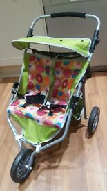 Dolls double pushchair from Smyths