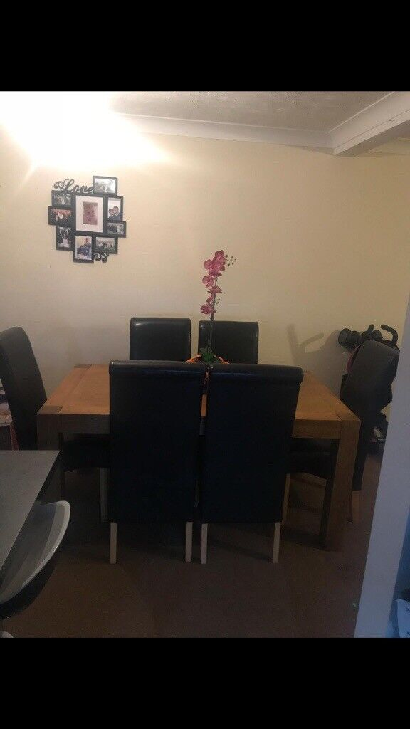 Peachy Canterbury Oak Table And Chairs In Minster On Sea Kent Andrewgaddart Wooden Chair Designs For Living Room Andrewgaddartcom