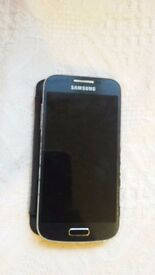 Used unlocked Samsung S4 Mini GT 19195 8GB Black Smartphone - in very good condition