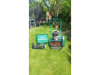 Suffolk Punch 14sk Cylinder petrol mower