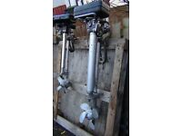 British silver Seagull outboard/long shaft