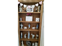 Solid Oak Bookcase/Display Unit. 3 Months Old. Excellent Condition.