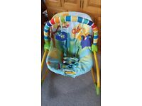 Chair: Bright Start Rock in the park rocker: 0-3 years