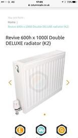 4 x as new double c/h radiators