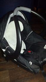 Bebe confort car seat and pram