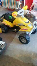 Kids 6v battery quad