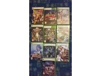 xbox360 games / all different PRICES / LOADS TO CLEAR !!!