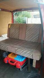 Vw t4 3/4 bed cushions