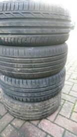 205 55 R16 tyres 7+ mm tread