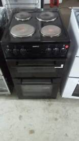BLACK BEKO 50CM ELECTRIC COOKER WITH 3 MONTHS GUARANTEE