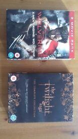 Dvds £1 / Blurays £2 / boxset £3