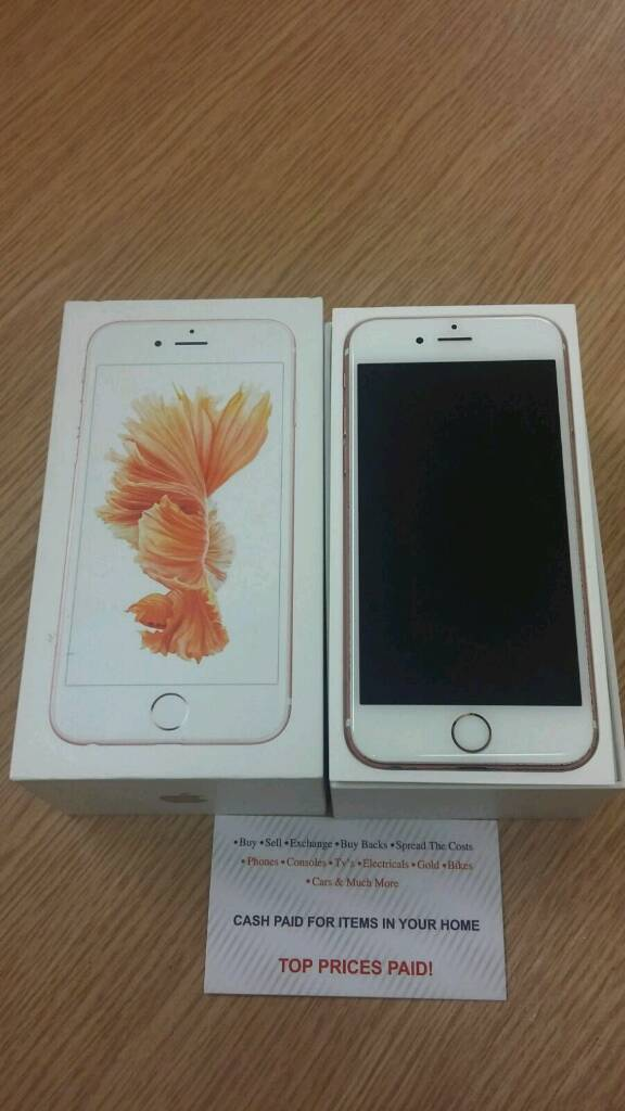*FREE ACCESSORIES*FREE DELIVERY* Boxed Apple IPhone 6S 16GB Sim Free Unlocked