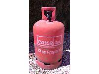 EMPTY 13kg propane calor gas bottle