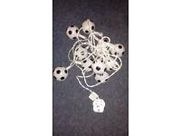 Free football lights with 2 spare bulbs and plug