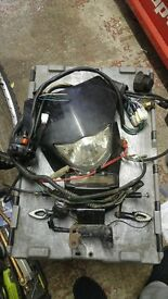 road legal pit bike wiring loom and head light