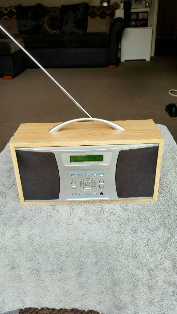 Acoustic Solutions DAB radio with alarm