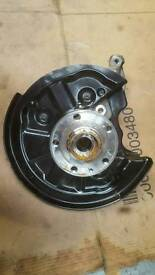 Knuckle an bearing complete. For Vw golf mk7 s3 model.
