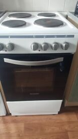 Only had cooker for 6 weeks electic cooker only yousd a couple times