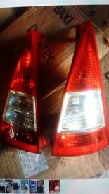 Citroen c3 rear lights x2