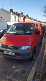 Toyota Hiace 280 SWB Red Van New 12 Months MOT