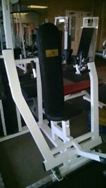 Commercial power zone seated chest press