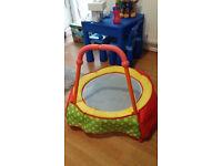 Toddler trampoline, good condition