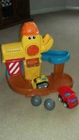 Toy digger set
